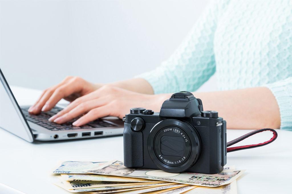 モデル撮影の料金設定